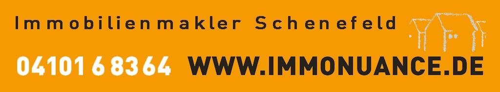 Schenefeld gehört zwar zum Kreis Pinneberg in Schleswig-Holstein fühlt sich aber an wie Hamburg. Altbauten mit Stil, junge Familien oder Seniorenresidenzen: Schenefeld hat viel zu bieten. Spaziergänge und Fahrradtouren im Grünen, einkaufen und bummeln im Stadtzentrum Schenefeld oder in der Hamburger Innenstadt; Kindertagesstätten, verschiedene Schulen und die infrastrukturelle Nähe zu Hamburg machen Schenefeld für Familien, Singles und ältere Menschen attraktiv. Immobilienmakler Schenefeld – Ihr Zuhause Möchten Sie ein Haus oder eine Wohnung vermieten oder zum Verkauf anbieten, bzw. mieten oder kaufen? Suchen Sie einen renommierten Makler in Schenefeld, Pinneberg oder Hamburg? Dann werden Sie bei ImmoNuance mit Kompetenz und Engagement betreut. Beauftragen Sie uns mit dem Angebot Ihrer Immobilie - denn als Immobilienmakler Schenefeld vermakeln wir Ihr Objekt zeitnah und fachkundig an einen Interessenten. Als Immobilienbesitzer erhalten Sie bei uns die Dienstleistung eines erfahrenen Maklers und können sich auf die erfolgreiche Vermarktung Ihrer Immobilie durch uns als Immobilienmakler Schenefeld verlassen. Immobilienmakler Schenefeld – wer sind die eigentlich? Wenn Sie sich Zeit und Mühe für die Vermietung oder den Verkauf Ihrer Immobilie ersparen möchten, dann können Sie die Aufgabe des Verkaufens oder Vermietens an ImmoNuance, den Immobilienmakler Schenefeld, übertragen. Sie müssen sich nicht mit der optimalen Vermarktung auseinander setzen, Inserate schalten und Termine vereinbaren, um einen Mieter oder Käufer für Ihr Objekt zu finden. Für diese Aufgaben bietet Ihnen der Immobilienmakler Schenefeld faire Konditionen und qualifizierte Leistungen, die zu einer schnellen Realisierung Ihres Vorhabens führen. Aufgrund unserer hohen fachlichen Spezifikation und der regelmäßigen Teilnahmen an Fortbildungen wissen wir genau, worauf es beim Verkauf und der Vermietung ankommt. Wir finden für Ihr Objekt einen geeigneten Mieter oder Käufer und übernehmen auf Wunsch auch die 