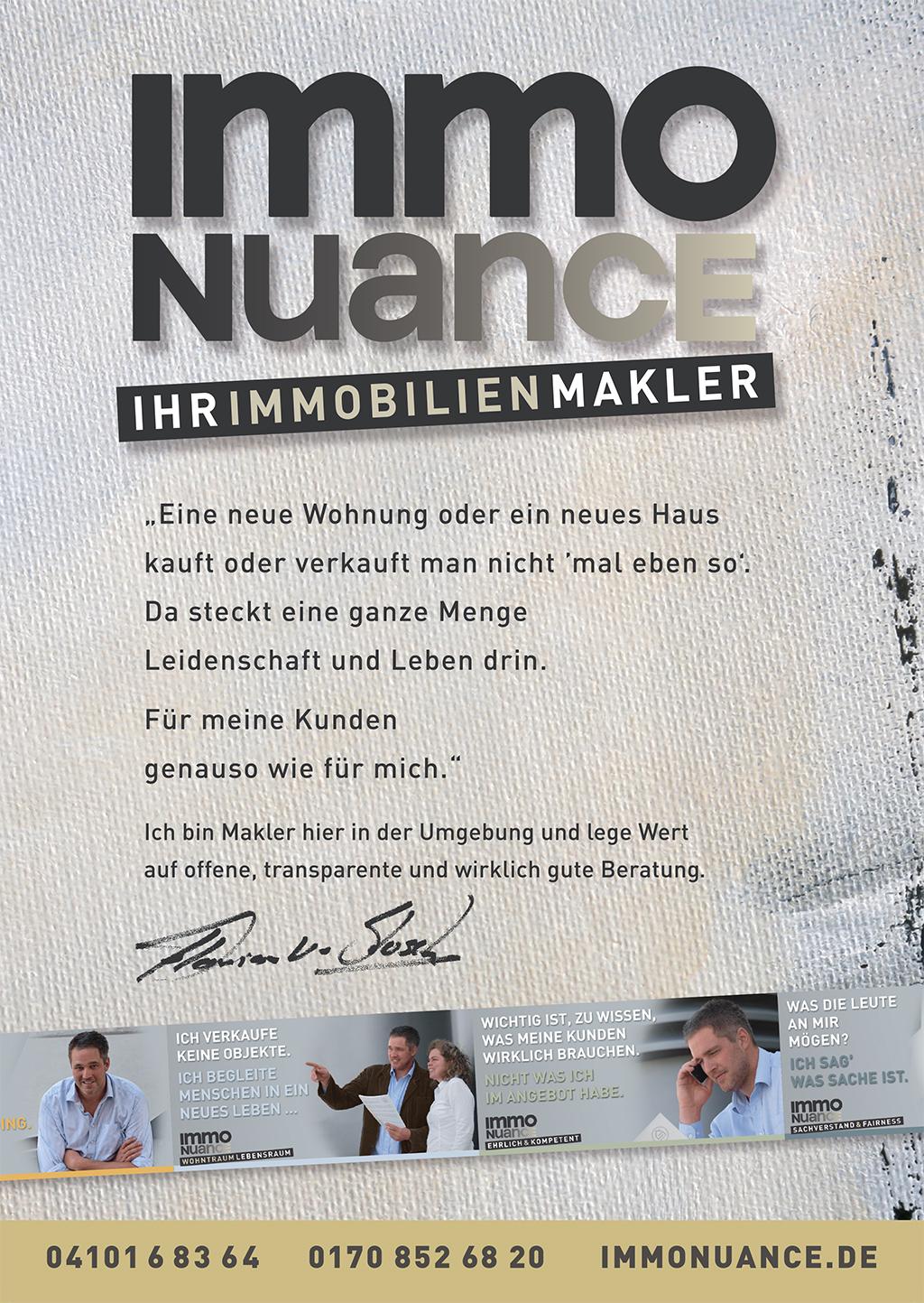 Immo Makler Verkauf Vermietung Halstenbek Rellingen St. Pete Appen Waldeau Schenefeld
