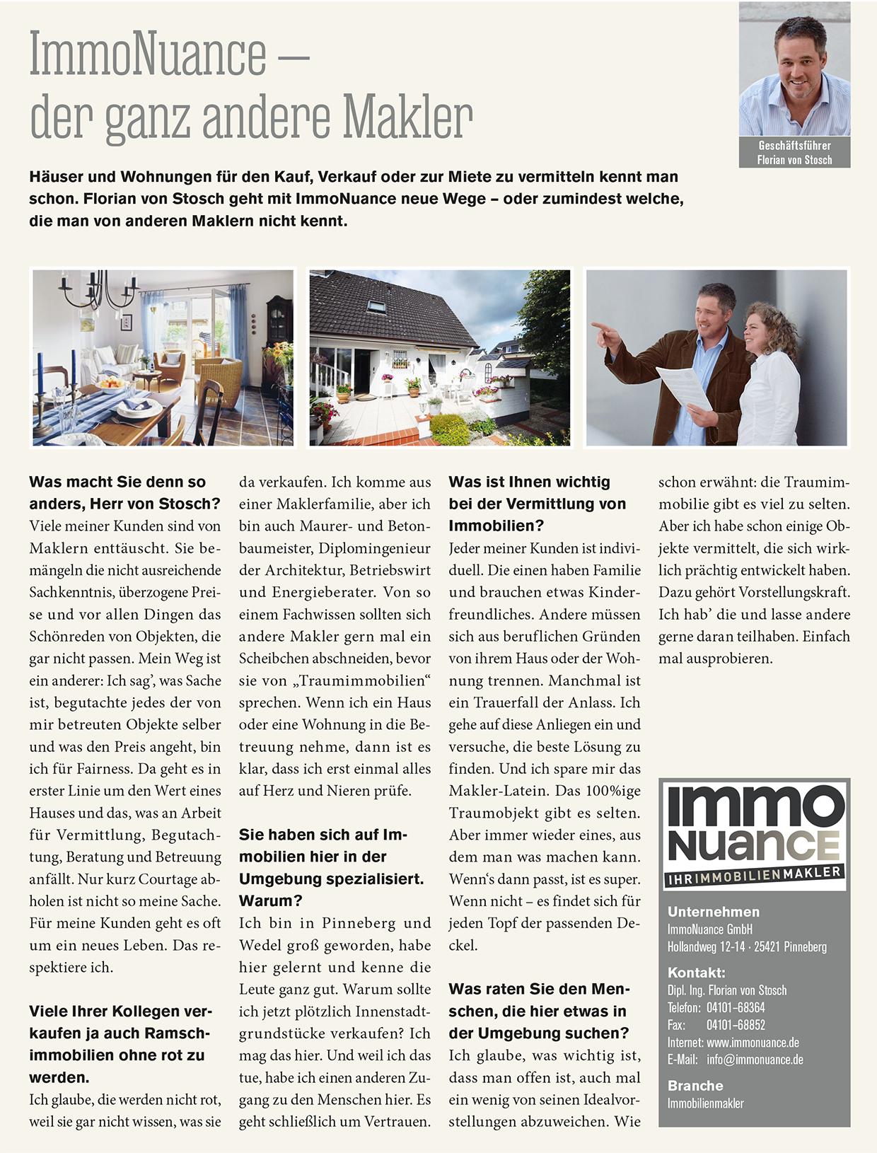 Immobilienmakler Hamburg Niendorf - Verkauf Vermietung Haus WOhnung Appartement Immokauf