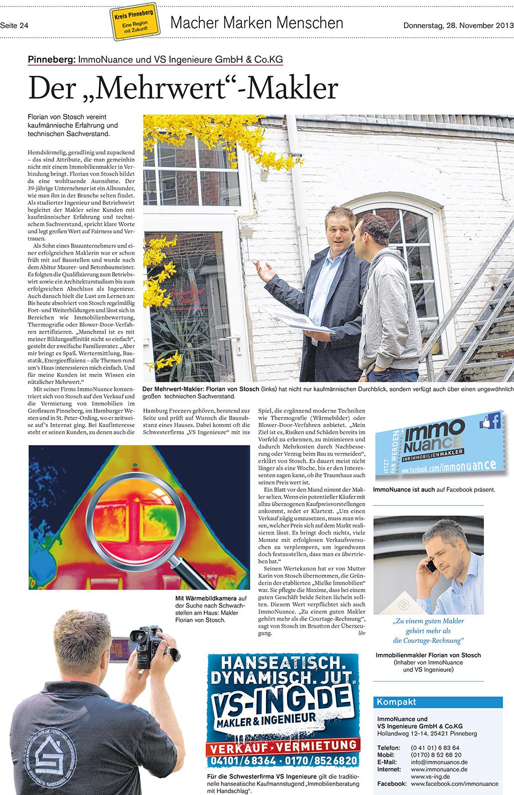 Mehrwert Makler Pinneberg Hamburg Verkauf Haus Wohnung Immo Immobilie Vermietung Loft Appartement Ferienwohnung