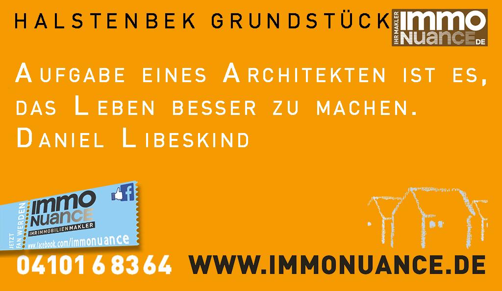 Halstenbek Grundstück  Verkauf Wohnung Haus verkaufen Immo Immobilienmmakler Baugrundstück Neubau Hausbau