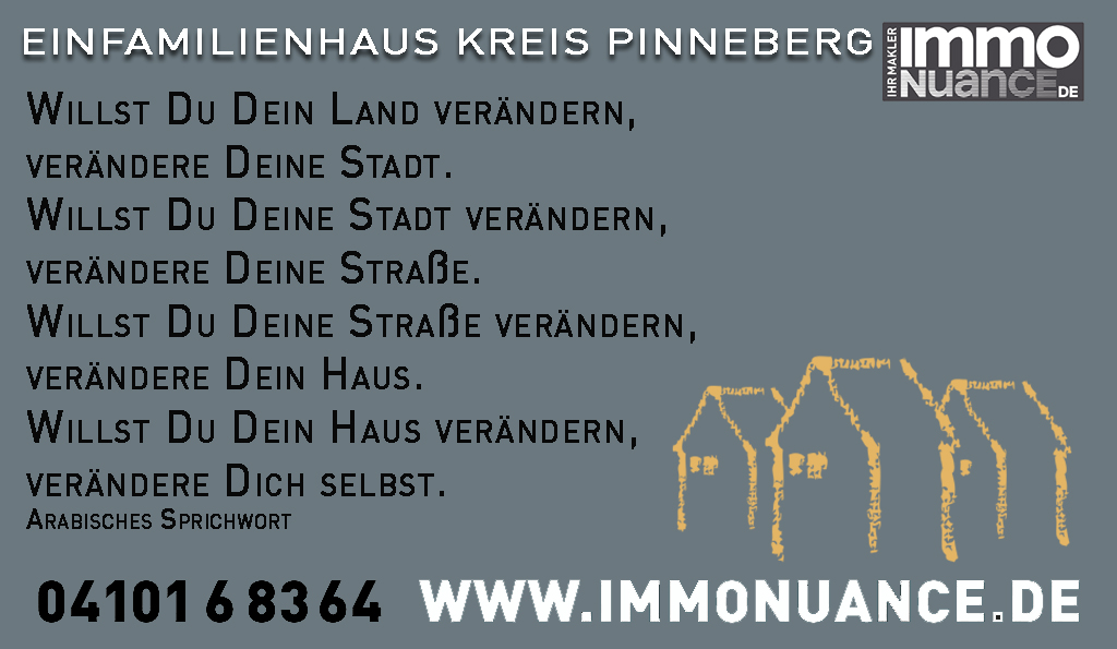 Einfamilienhaus Kreis Pinneberg verkaufen kaufen Kaufberatung Immobilienberatung Makler Ingenieur Sachverständiger