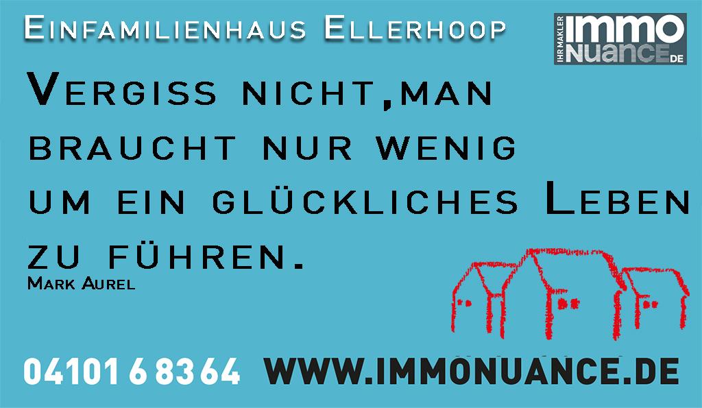 Einfamilienhaus Ellerhoop Verkauf Kreis Pinneberg Haus Wohnung verkaufen Immobilienmakler Makler von Stosch Immobilien