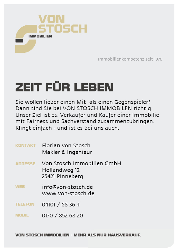 Pinneberg Immoservice Immobilien Hausverkauf WOhnung verkaufen Pinneberg Hamburg Makler Immobilienmakler