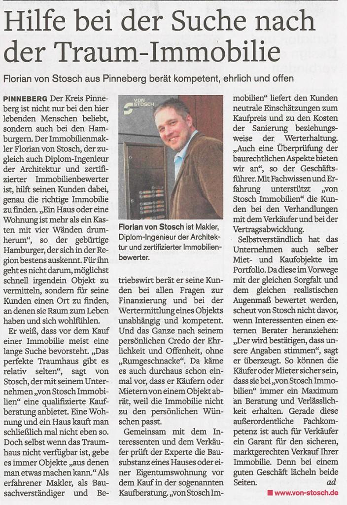 Traumimmobilie Verkauf Kauf Pinneberg Hamburg Rellingen Halstenbek