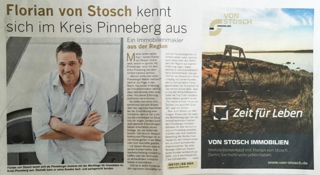 Pinneberger Makler Verkauf Immobilien von Stosch Vermietung
