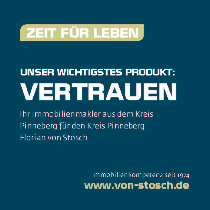 Flyer von Stosch Immobilien Verkauf Immobilie Pinneberg Kreis Pinneberg Elmshorn Rellingen Schenefeld