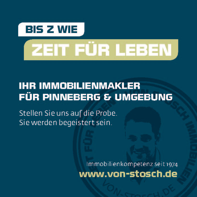 Zeit für Leben von Stosch Makler Immobilienmakler Halstenbek Rellingen Schenefled Pinneberg