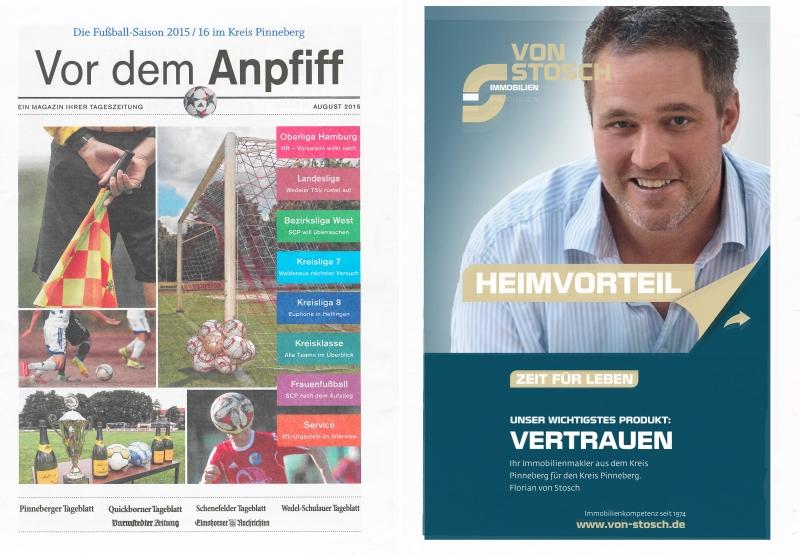 Vor dem Anpfiff 2015 Immobilien Fußball Fan Pinneberg
