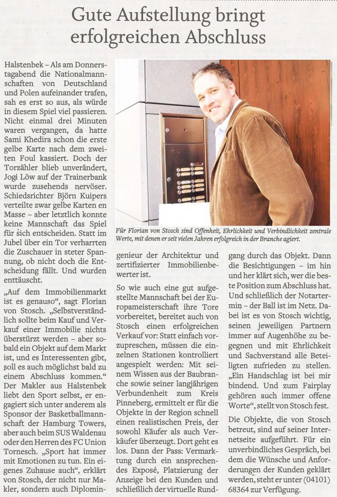 erfolgreicher Hausverkauf Pinneberg