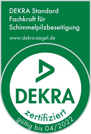 Dekra zertifizierte Fachkraft für Schimmelpilzbeseitigung