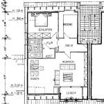 Grundriss der Wohnung 2 Zimmer Dachgeschosswohnung Pinneberg Vermietung Immobilienmakler Kreis Pinneberg Halstenbebek Rellingen