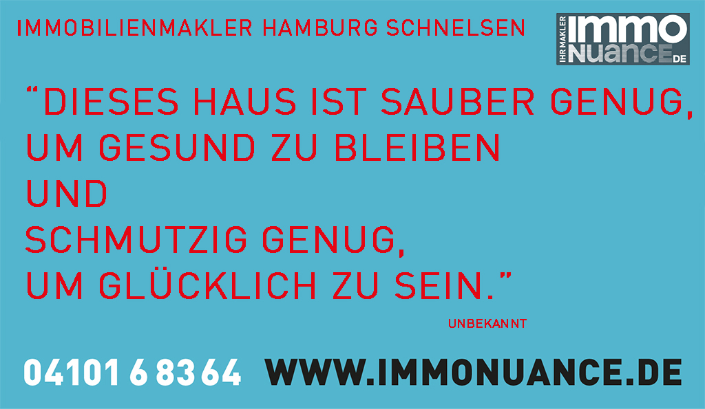 Immobilienmakler Hamburg Schnelsen Immoverkauf Haus verkaufen Wohnung kaufen Reihenhaus Doppelhaus Einfamilienhaus