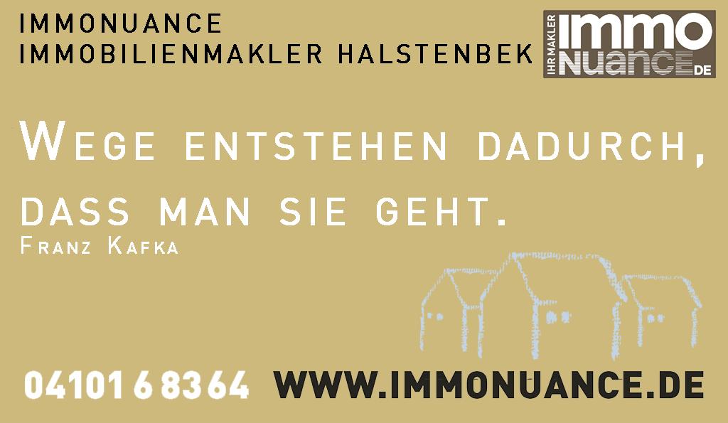 ImmoNuance Immobilienmakler Halstenbek Haus verkauf Vermietung Makler Immomakler Maklerbüro halstebenk Immobilienmakelr Wohnung Hamburg
