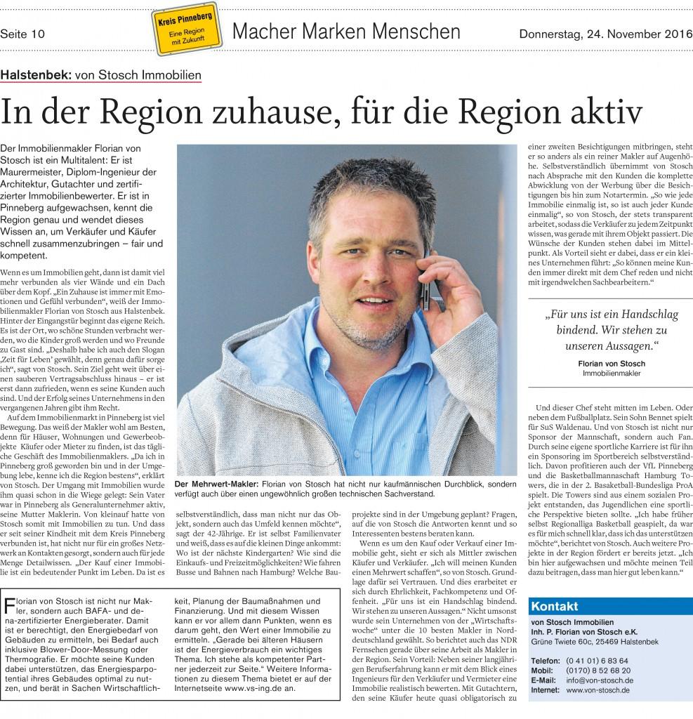 Immobilienmakler im Kreis Pinneberg